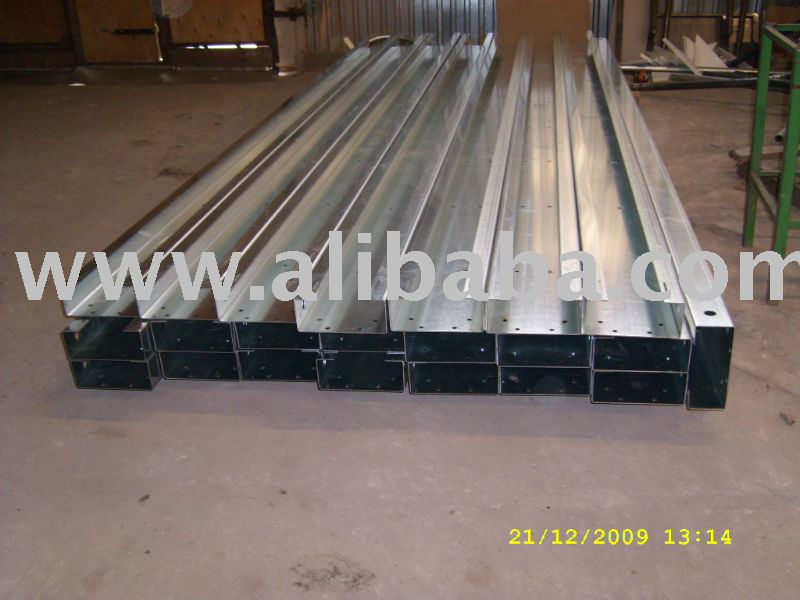 steel cold formed profiles
