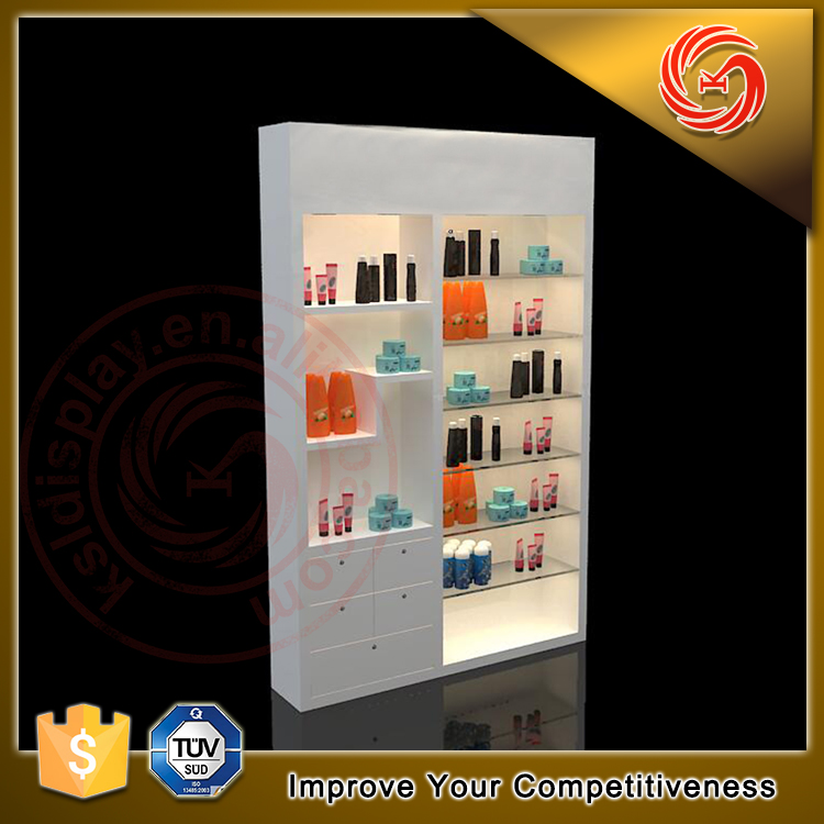 modern beauty salon nail products display furniture for sale