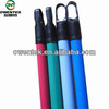 Single Color wooden broom stick cover pvc in Top Quality