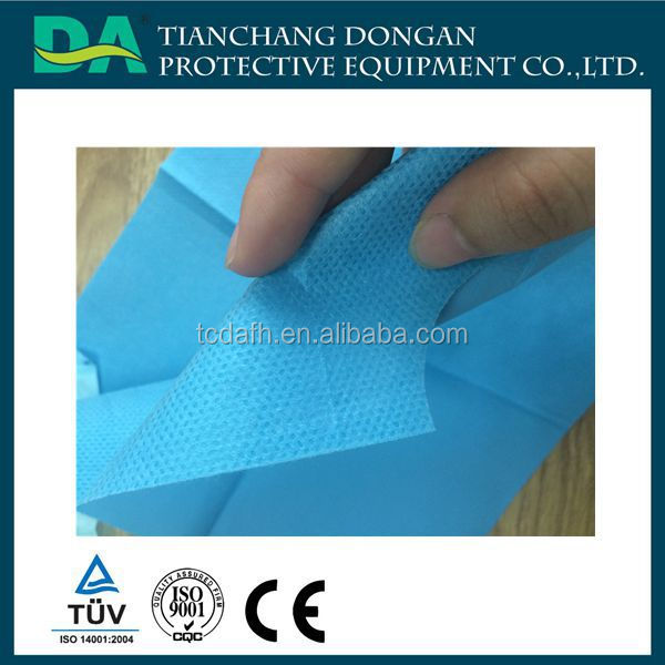 Sterilization Crepe Paper for Dental Medical / metallic crepe paper