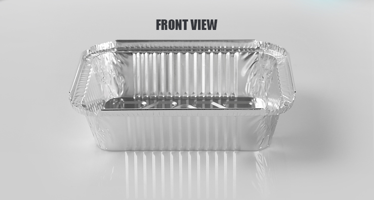 aluminum foil container 750ml disposable meal tray