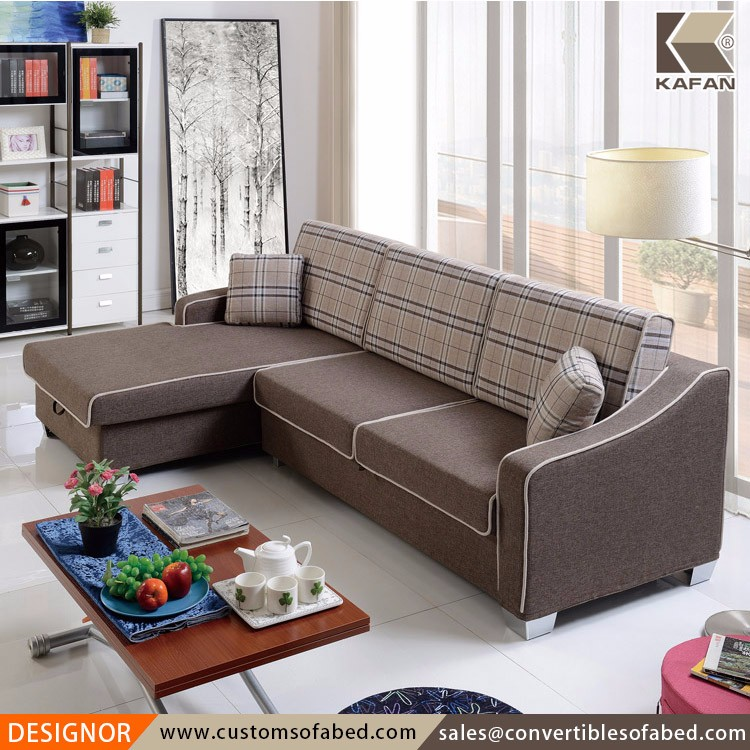 Living Room L Shape Sofa Cum Bed From Retailers