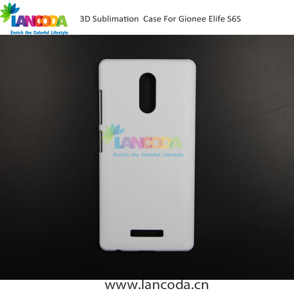 3d blank phone case sublimation printing for Gionee Elife S6S