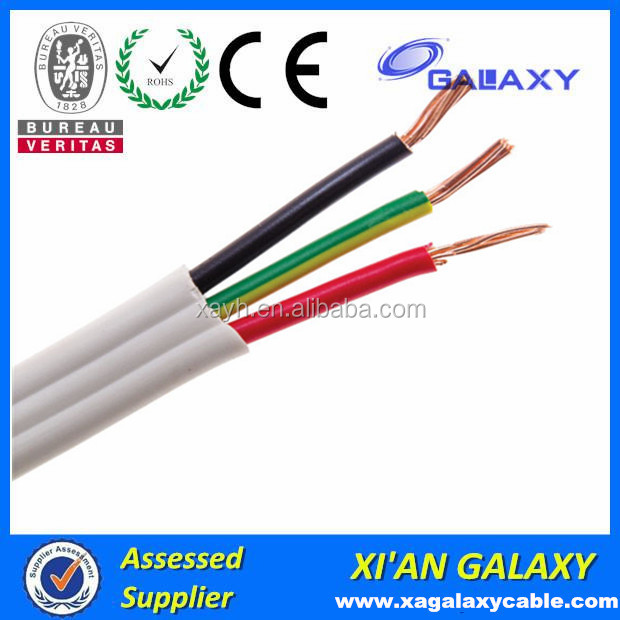 Hot Selling Australia Standard TPS Electrical Wires And Cables Flat Cable Type BVVB RVVB