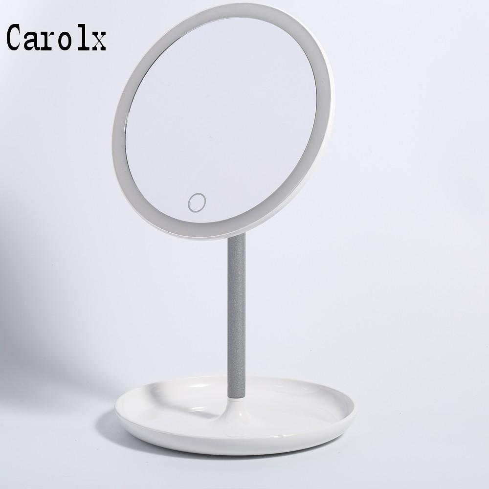 Plástico vanidad marco LED iluminado maquillaje Espejo, General ...