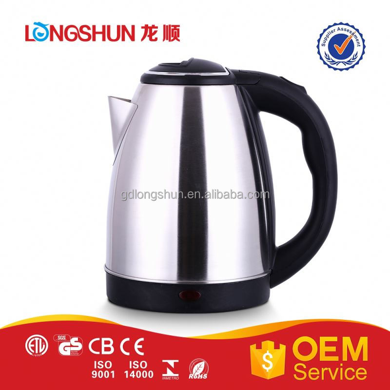 Quick boiling hot new products cheap price glass electrc kettle led