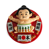 Limited Promotion resin Sumo Wrestler japan tourist souvenir fridge magnet