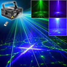 Professional Green Blue Laser Effect Stage Light Wedding Stage Lighting Projector