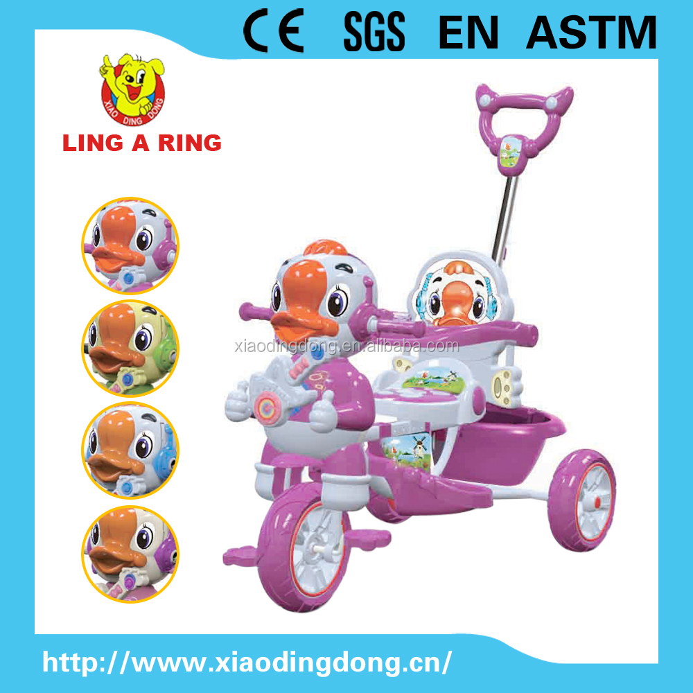Good sale lovely baby tricycle with music High quality cheap children trike with roof Kid's tricycle new design