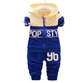 baby boy clothing set 2016 new spring autumn suit for children Korean sport suit for boys