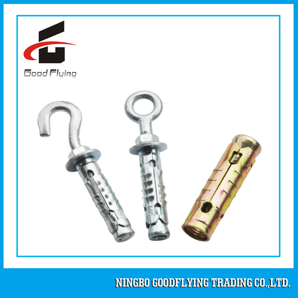 Ground Screw Metal Fasteners Heavy Duty Shield Anchor