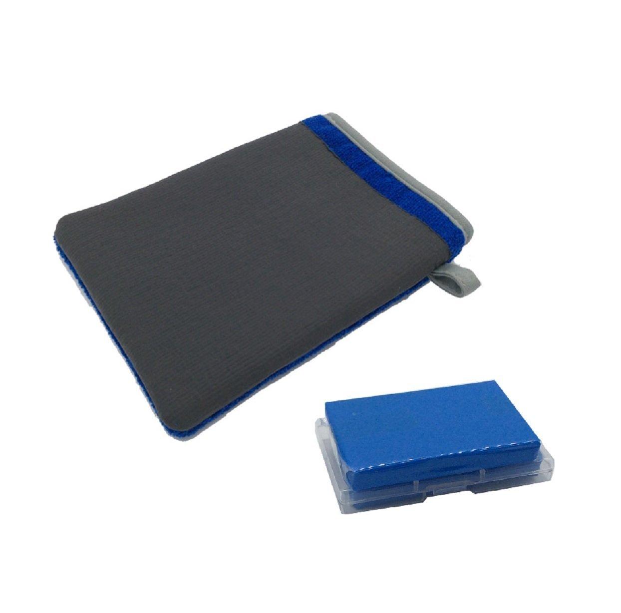 MAARYEE Car Clay Bar 100g Auto Detailing Magic Claybar Cleaner Pack of 4 Blue