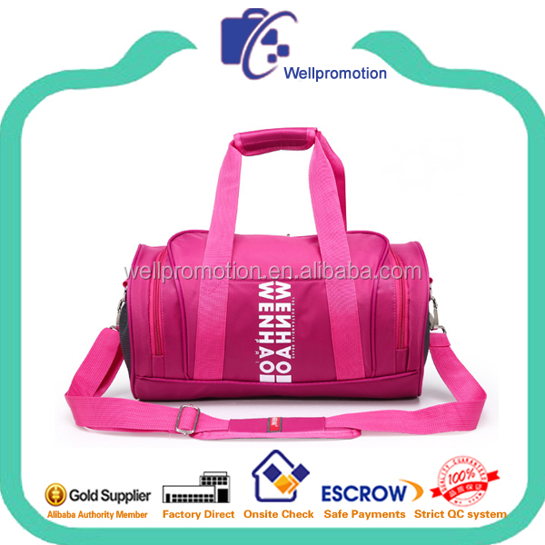 Deluxe trendy holdall practical sports gym bag for women