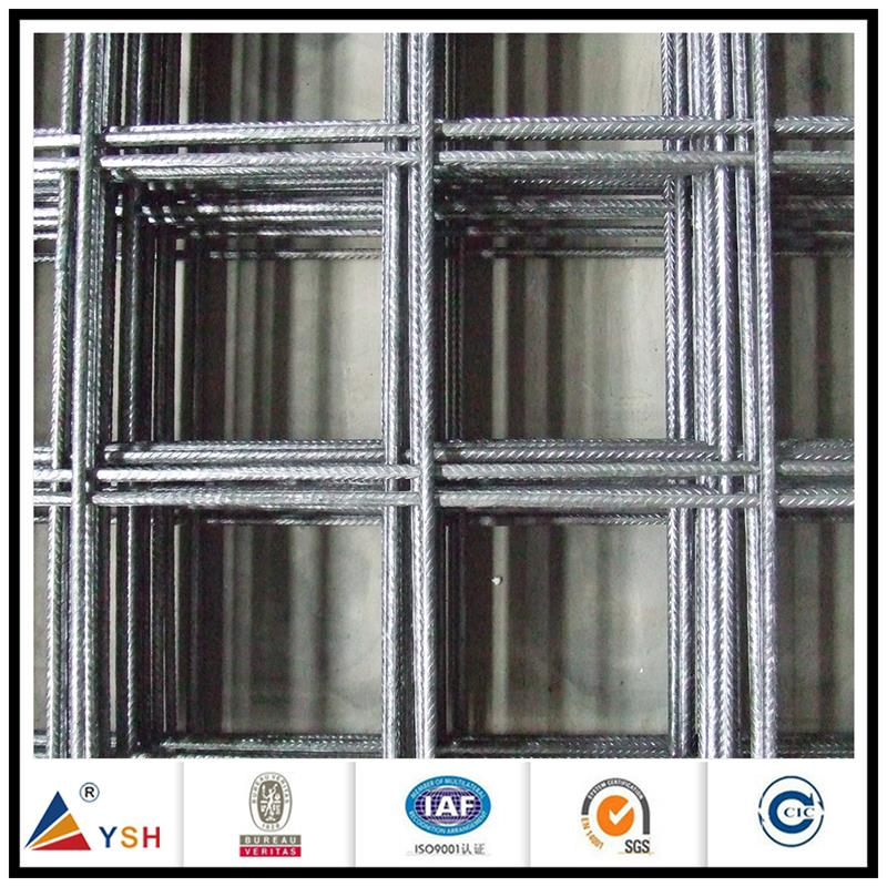 Carbon fiber concrete reinforcing welded wire mesh