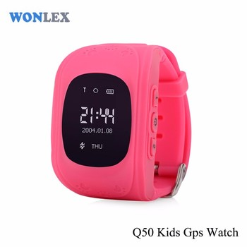 Wrist Watch Gps Tracking Device Locking Bracelet With Factory Price