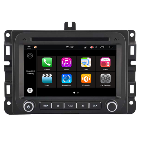 S190 WITSON ANDROID 7.1 AUTO RADIO DVD PLAYER GPS Para DODGE RAM 1500 2014 2G DDR3 1080 P HD EXTERNO BLUETOOTH MICROFONE