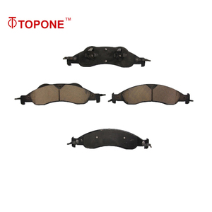7L1Z-2001-B Good Quality Semi Metallic Ceramic Brake Pads For FORD Automotive Disc Brake Pads For LINCOLN Navigator D1278