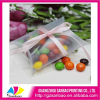 Clear acetate craft packing transport plastic gift favor box