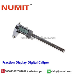 "0-300mm/10"" Electronic Digital Caliper Inch/Metric/Fractions"