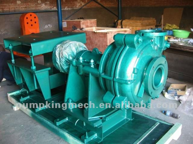Metal/Rubber Liner Slurry Pumps