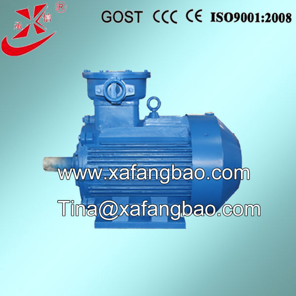 motor magnet 660/1140V, incduction explosion proof motor, 585~3000rpm