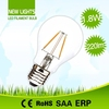 Home decorative high cost performance environmental protection led filament bulb 2w