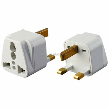 3 Pin Square Plug Type G Converter Us Usa To Ireland Uae British Uk Power Travel Adapter Buy
