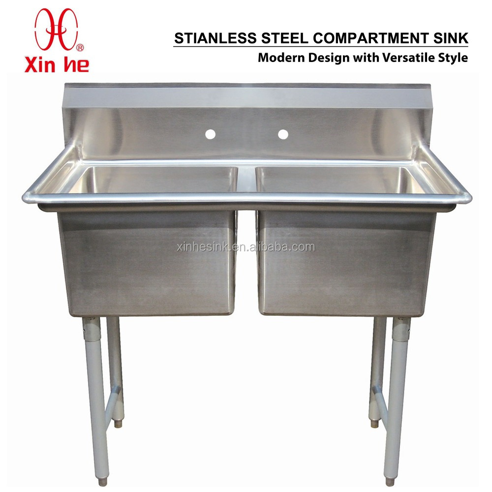 Restaurant Kitchen Sink stainless steel freestanding kitchen sink, stainless steel