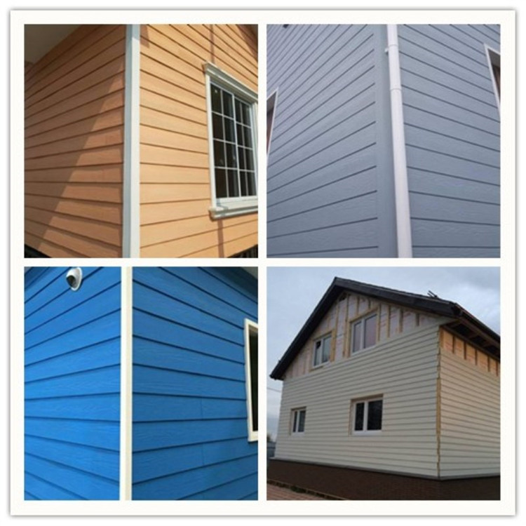 no VOCs fiber cement siding weather siding board