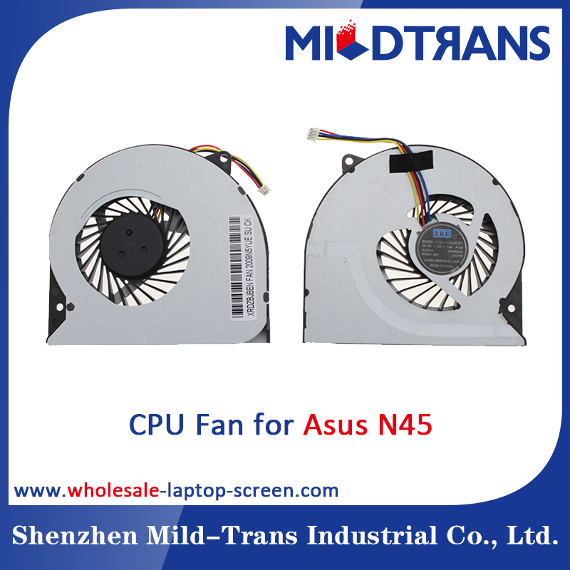 Wholesale OEM DC 5V 4PIN for Asus N45 Laptop CPU Cooling Fan