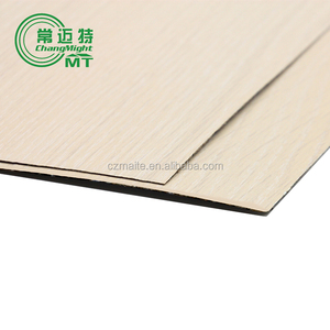 White HPL Laminated Plywood 1220x2440 Full poplar core HPL board