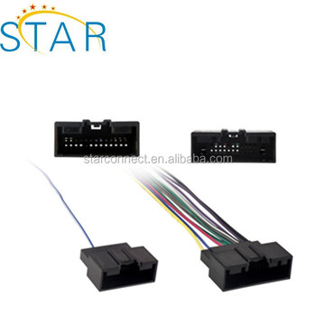 Factory 24 pin auto iso wire harness_350x350 factory 24 pin auto iso wire harness connector for car audio buy