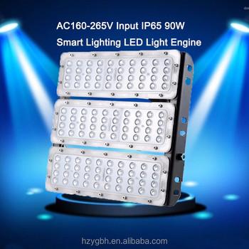 90w Ac160-265v Input Smart Lighting Led Light Engine Ip65 Waterproof Led  Module Retrofit Kit For Outdoor Street/ Flood Light - Buy Smart Led Light