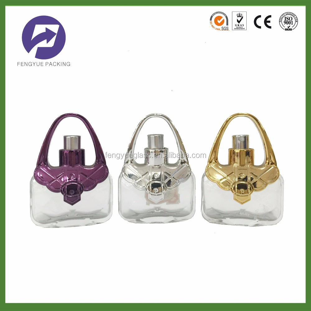 Fengyue 25ml Handbag Shaped Designer Perfume Bottle With High Quality Glass Product On