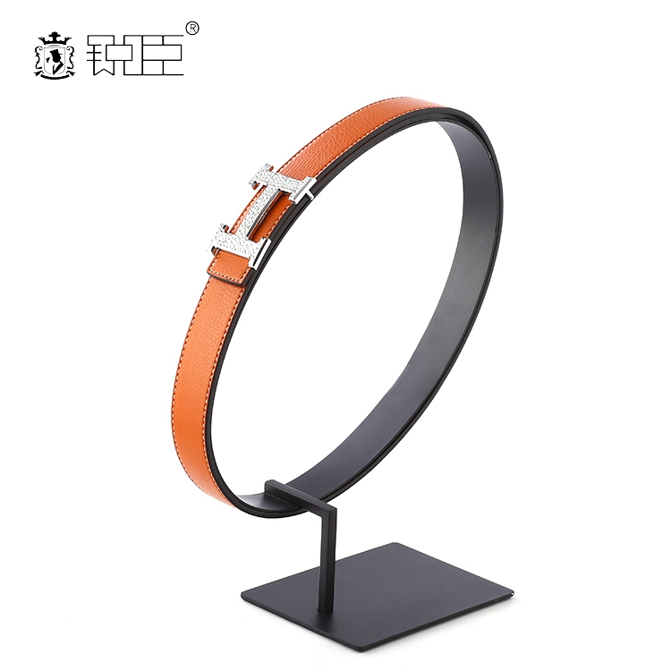 Durable Stainless Steel Belt Display Stand Retail Belt Display Rack for Belt