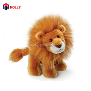 Cute Stuffed Lion Toy with Sparkle Embroidery Eyes Stuffed Animal Plush Lion