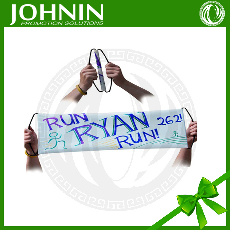 OEM pvc/pe high quality customized professional rolling hand fan banner