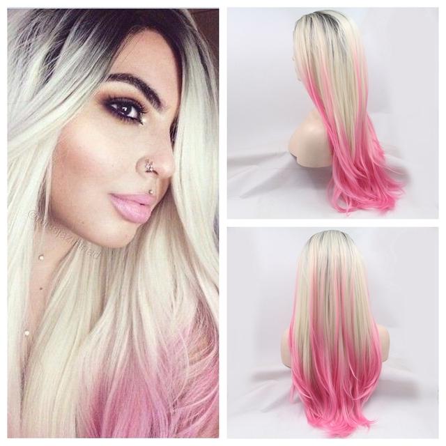 Brilliant Pink Black And Blonde Hair Hairstyles For Men Maxibearus