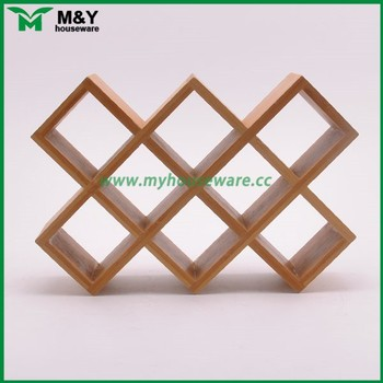 Bamboo Wooden Wine Rack Insert For Cabinet - Buy Bamboo ...