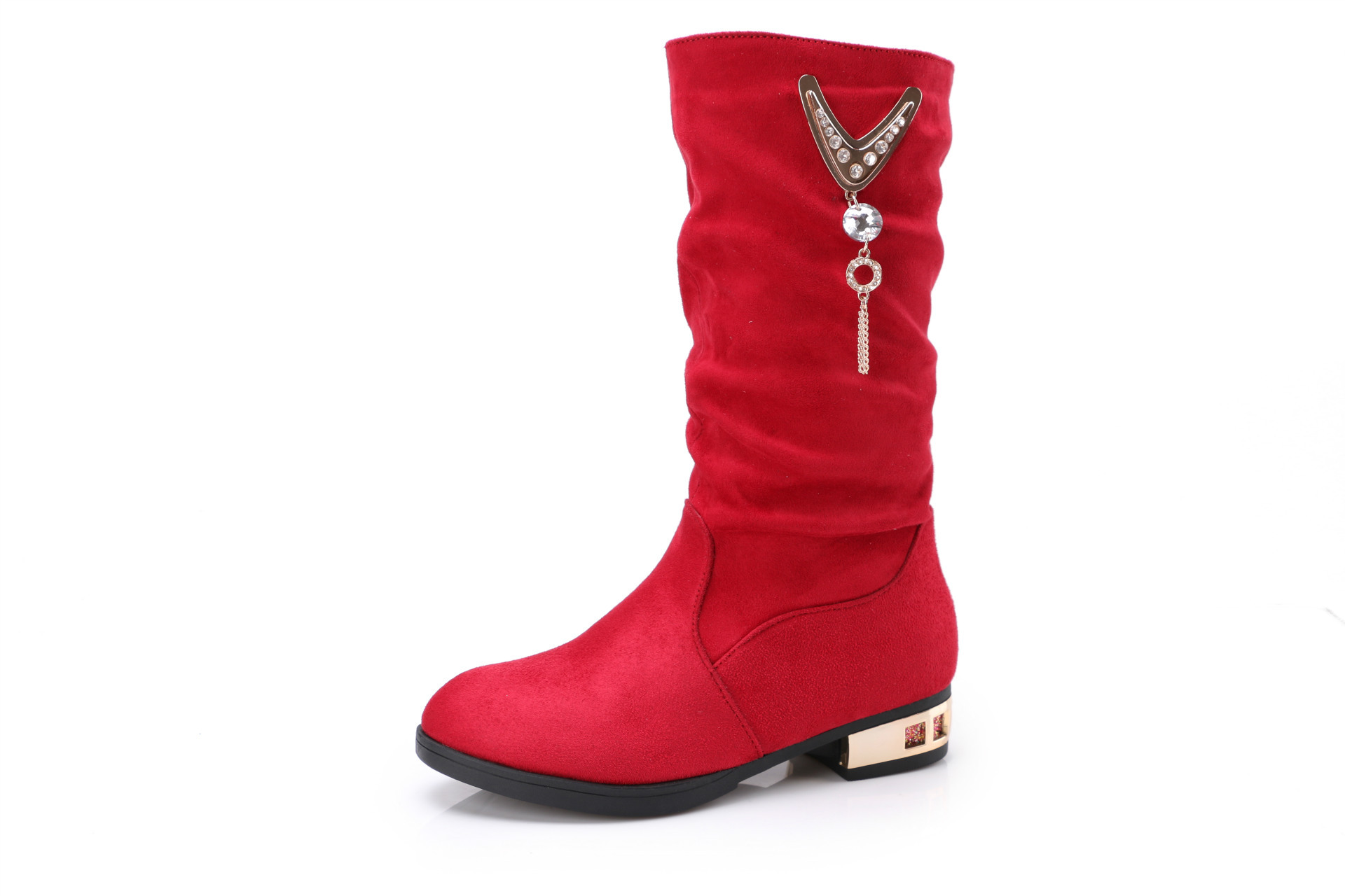 2016 New Children Girls Winter Fashion Boots Shoes Kids