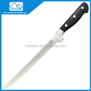 Forged Steel Sashimi Fish Fillet Knife with ABS Handle, 8.5-Inch