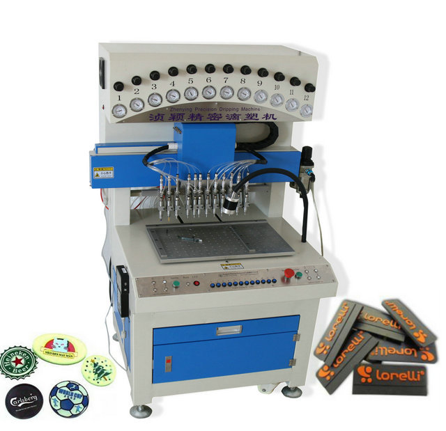 PVC label dispensing machine