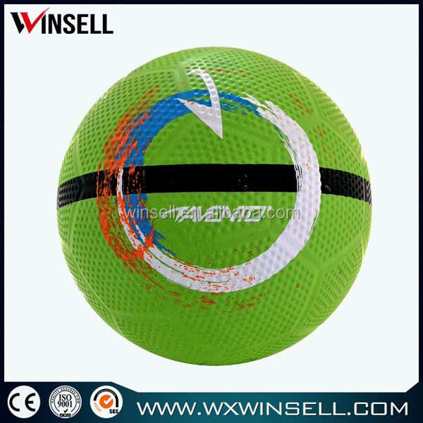 High quality popular rubber soccer ball lots