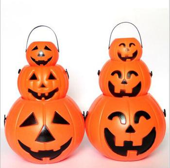Halloween Snoep.Pompoen Snoep Houder Trick Behandelen Halloween Snoep Emmer Met Handgrepen Buy Pompoen Emmer Halloween Pompoen Emmer Pompoen Snoep Houder Product On