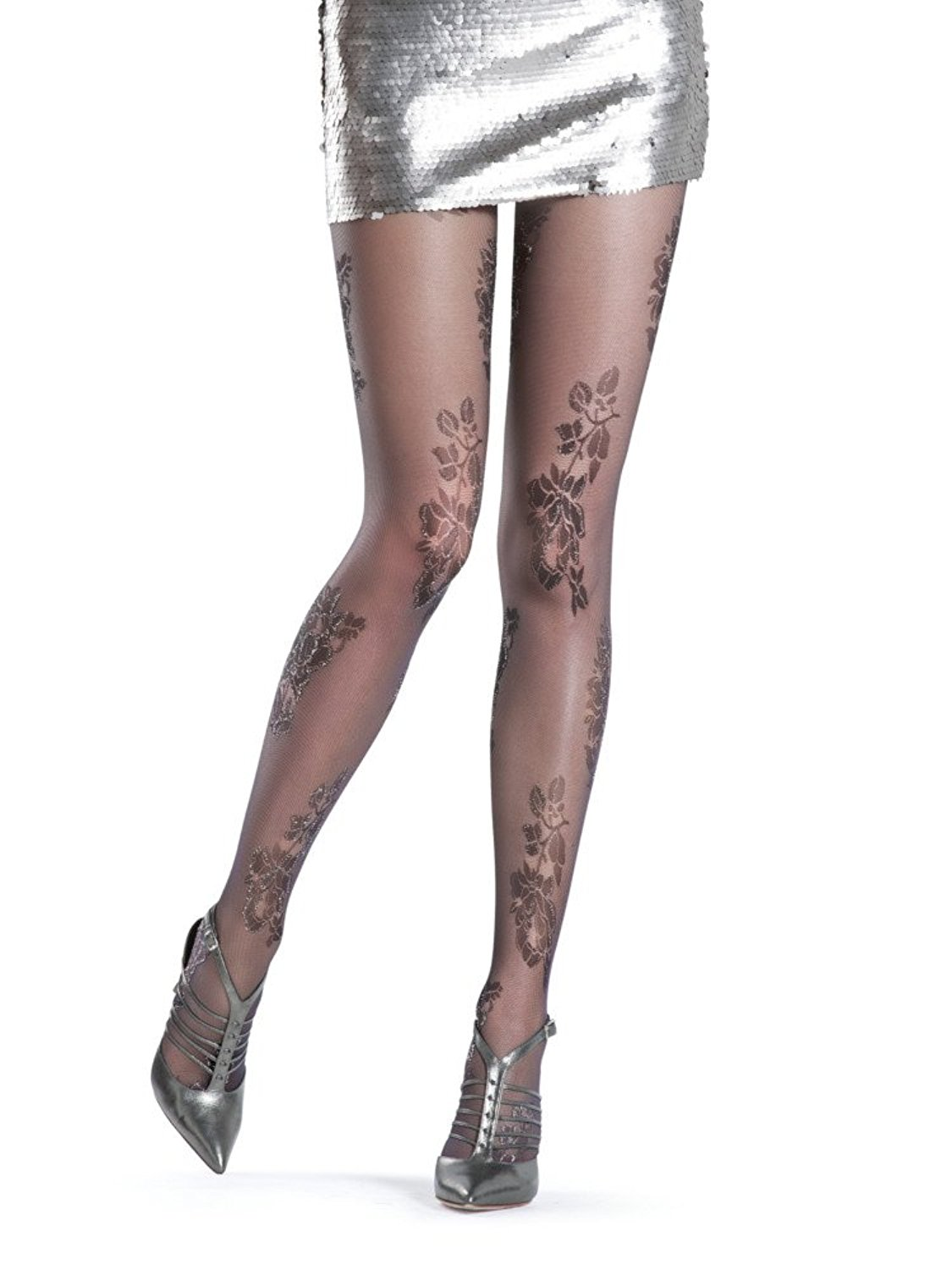8f17c42e239 Get Quotations · Oroblu Thea Sparkle Tights - Hosiery Outlet