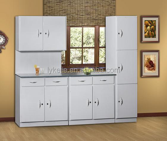 Kitchen Furniture Price: Home Design Furniture Solid Metal Kitchen Cupboard