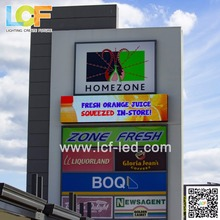 Programmable highway advertising led display board P8 Outdoor Led Display