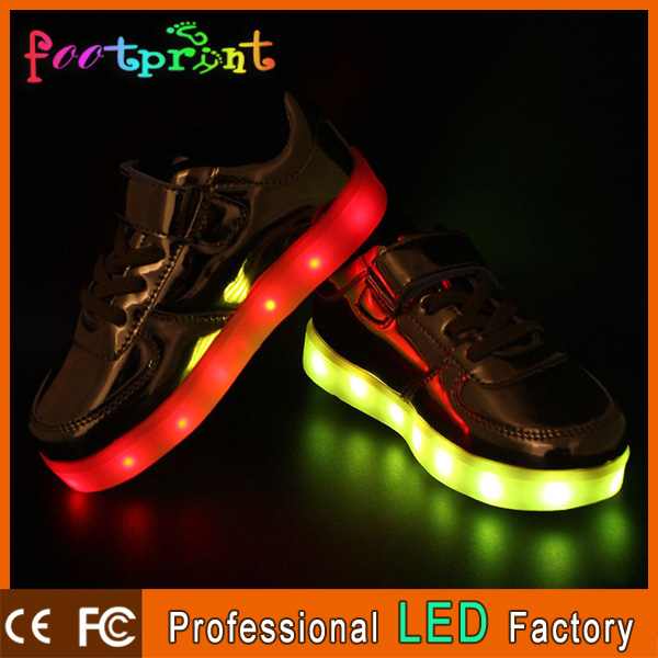 Good Quality USB Charging led light Flashing Sneakers LED Shoes