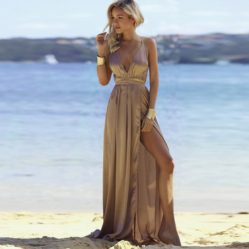 Vestidos para una noche en la playa