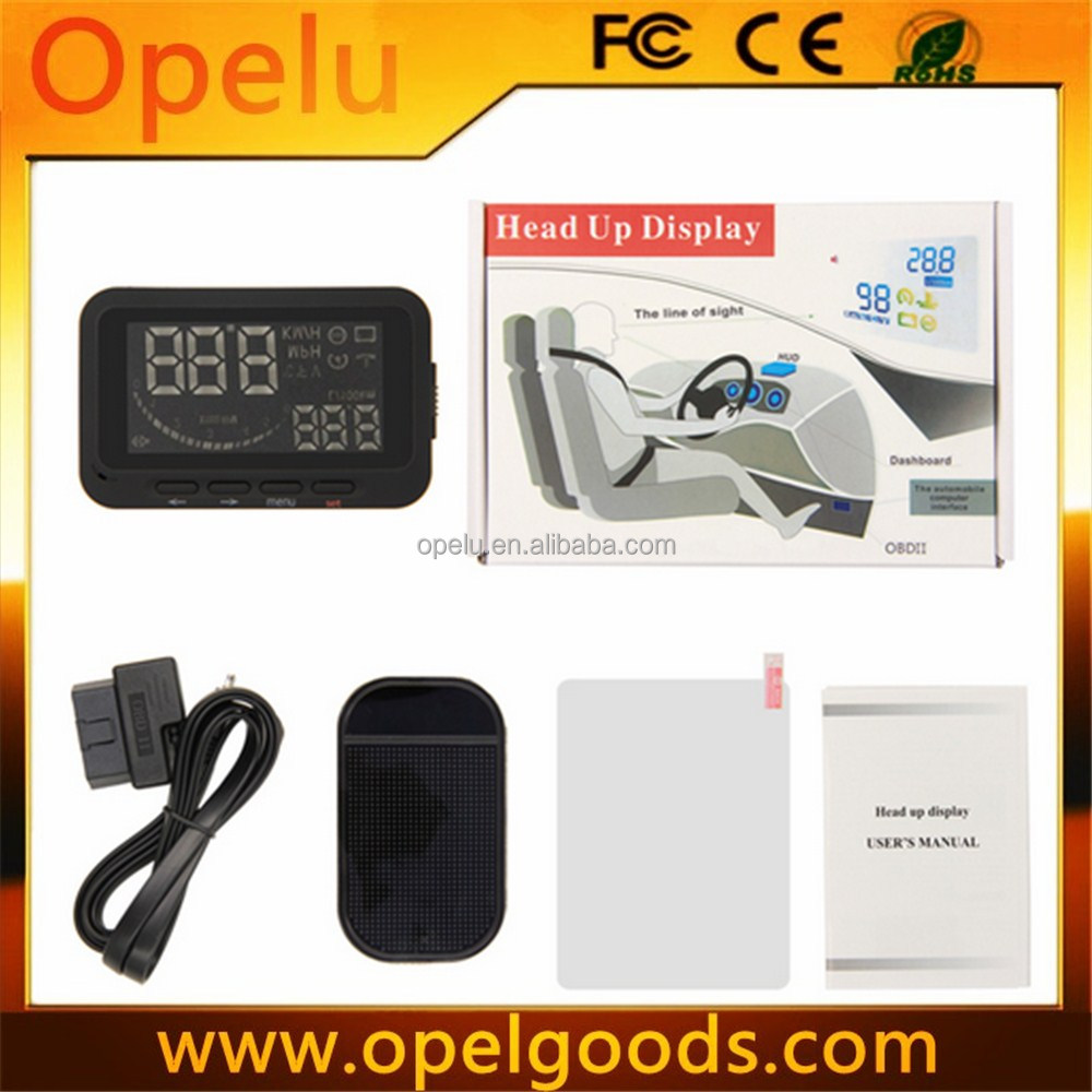 OBDII Speedometer car projector Hud display head up display with screen